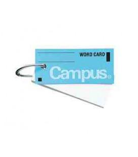 Mini cartes de vocabulaire - Campus Kokuyo (85 feuilles - Couverture bleue)