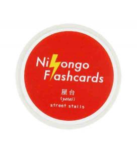 "Ruban adhésif décoratif japonais ""Nihongo flanshcards"" - Yatai (Street food)"